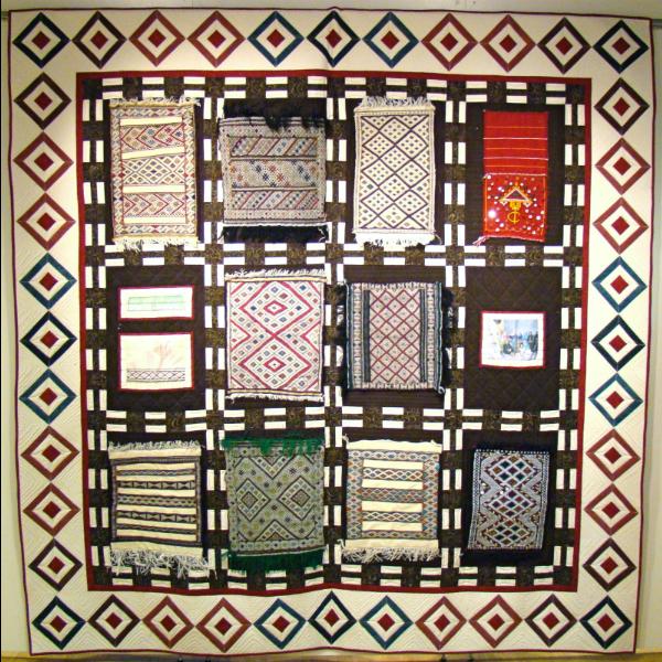 Moroccan Amazigh Quilt 6x6