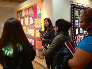 Laura Jones from AP tells the story behind the Chintan Wastepickers Quilt.