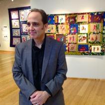Neil Tetkowski, Gallery director at Kean.