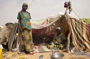 Malian refugees in Niger. Photo: UNHCR