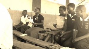 Teachers at Koch Goma Central telling us their thoughts on language and labeling
