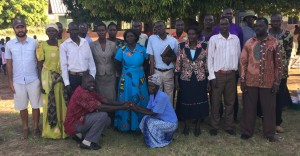 A Group Photo of Tochi Staff and the GDPU Team
