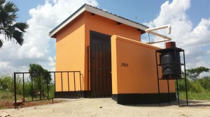 The Completed Disability-Accessible Toilet at Tochi Primary School