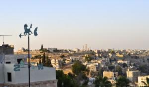 Sunset over Amman