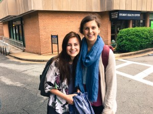 Enjoying a week of training with fellow Fellow, Rachel, who is working in Nepal this summer.