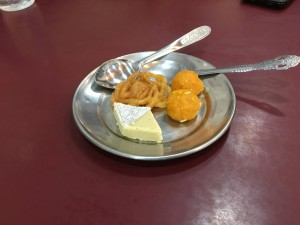 Jalebi, Rasgulla and Nepali desserts.