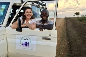 On the road with Michael, a Comboni Missionary Brother who is interning with CPI this summer.