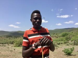 Kanye Kera was a Pokot warrior who raided Samburu villages before his son attended a CPI Peace Camp.