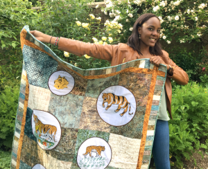 vicky and tiger quilt