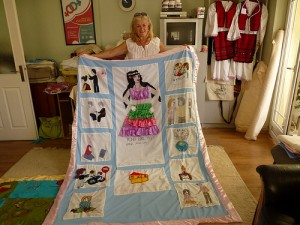 Beti from Open Door assembled the quilt