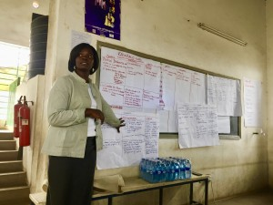 A Peace Ambassador trainee analyzes the challenges in her ward