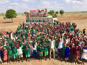 276 Samburu and Pokot children attended CPI Kenya's July 2017 Peace Camp