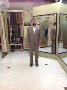 A nice suit.