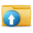 Folder-Upload-icon