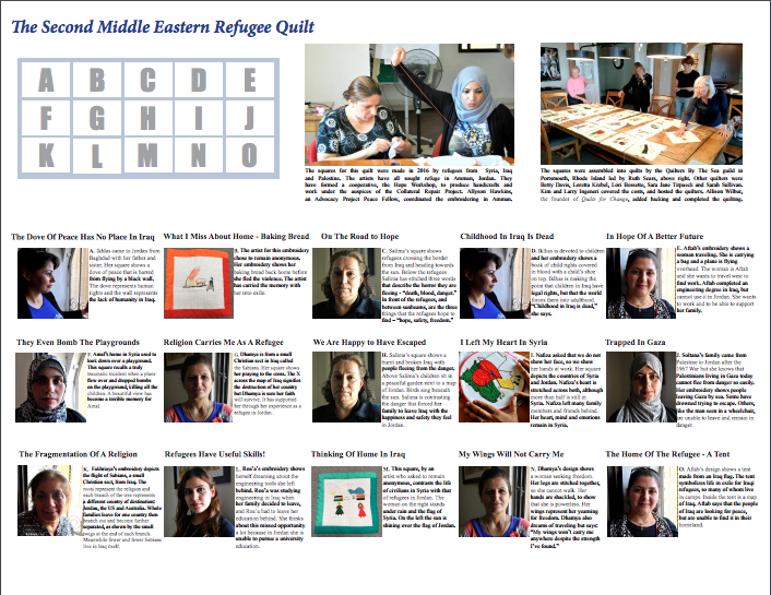 Middle Eastern Refugee Quilt_2