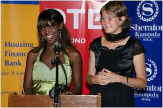 Annelieke and ugandan beauty queen