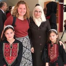 Katie Conlon (Palestine)
